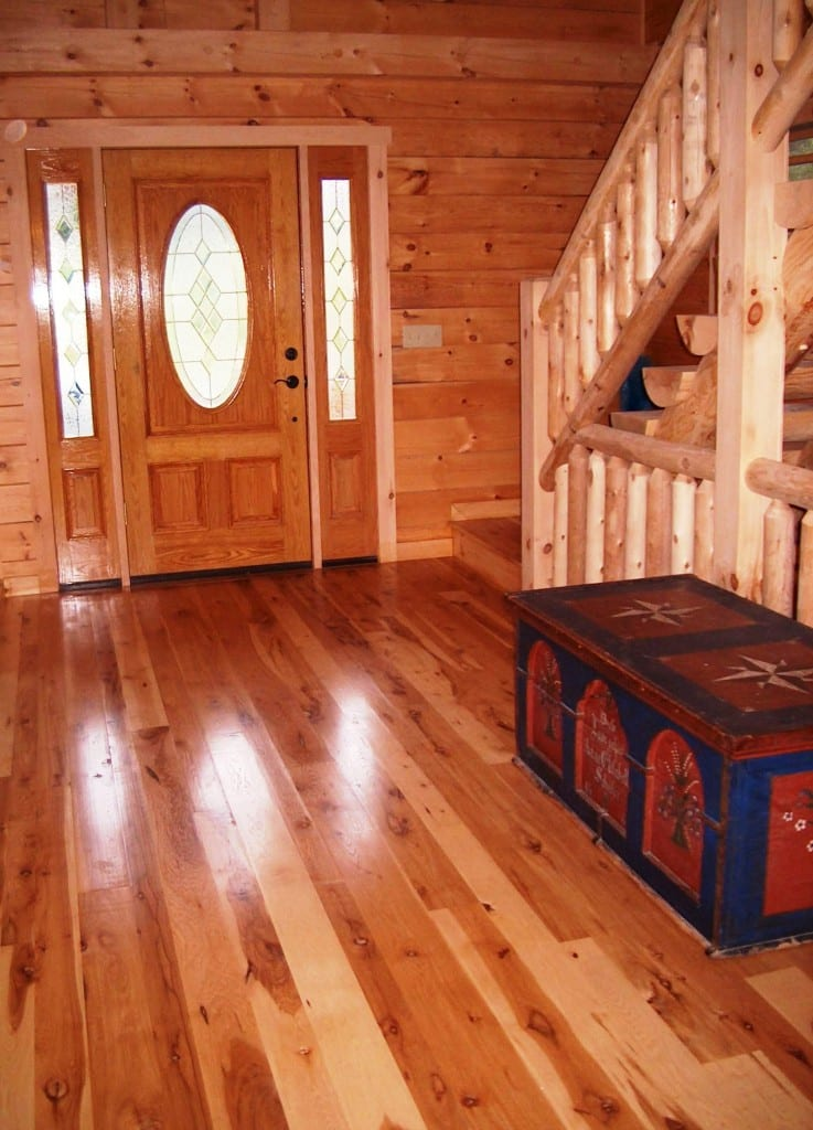 Hickory wide plank floors hull forest