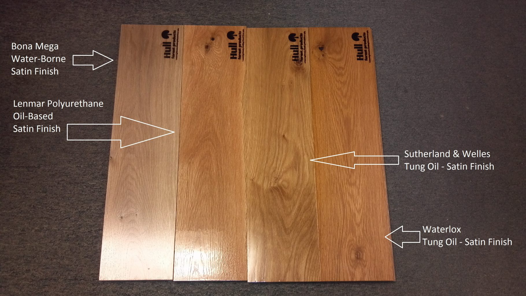 Hardwood floor refinish by nick graber for Wood floor finishes