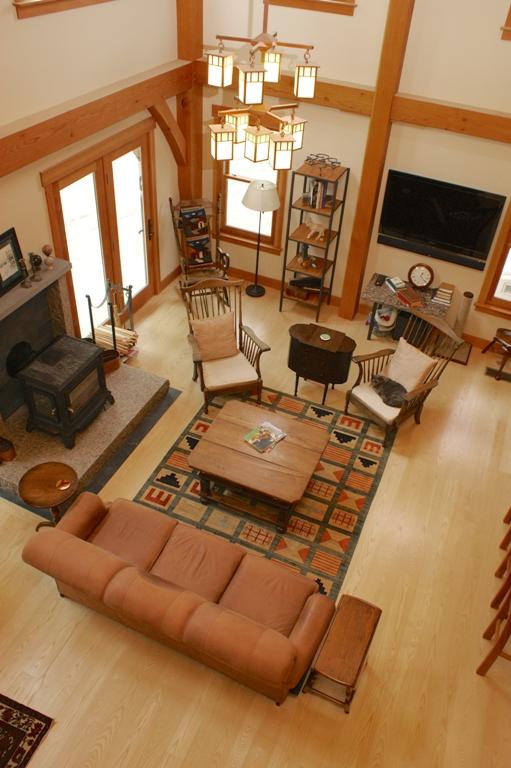 Select grade sapwood-only Ash wood floor.