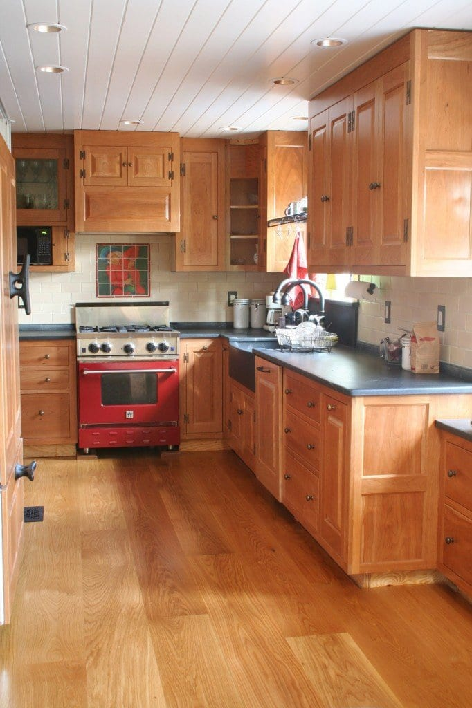 wood floors in kitchen choosing a wide plank wood floor for your kitchen hull 1579