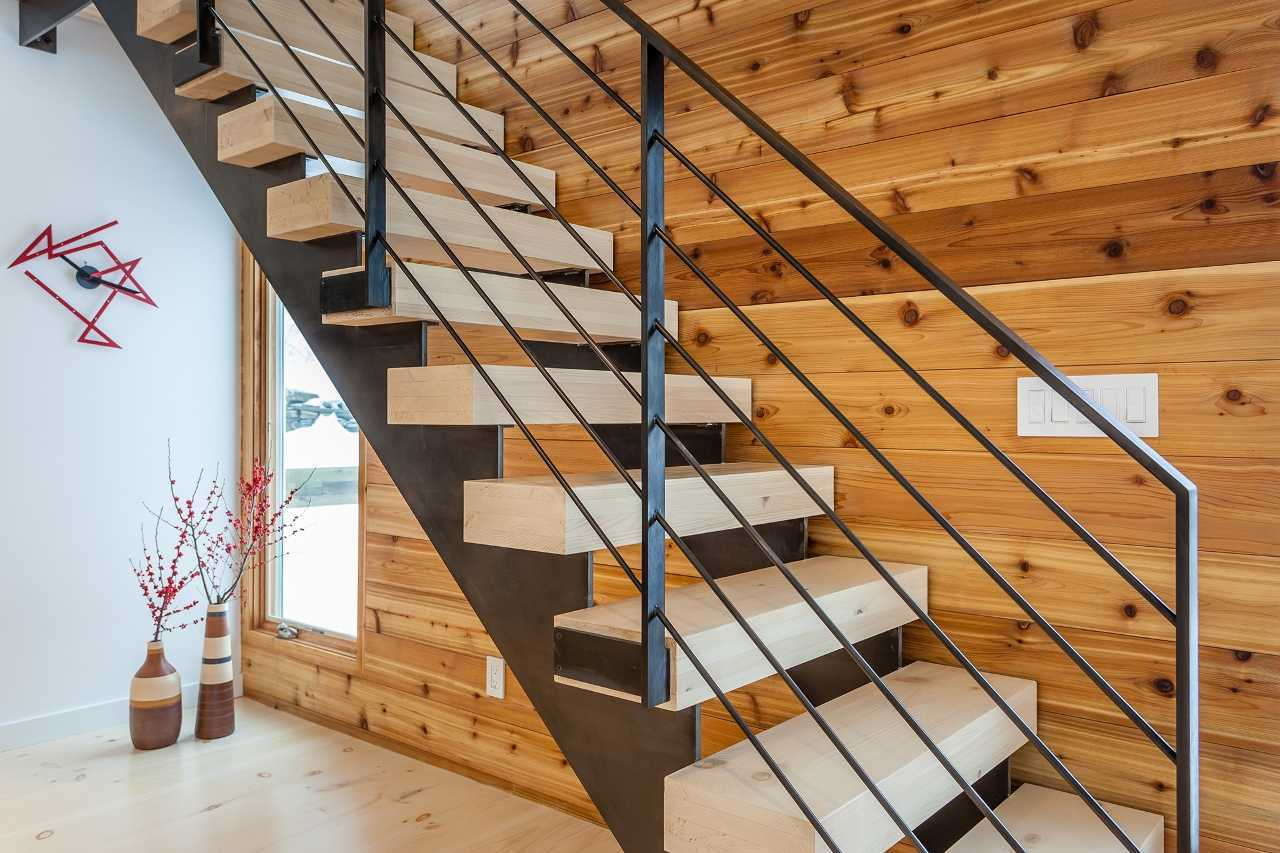 Custom stair treads from Hull Forest Products