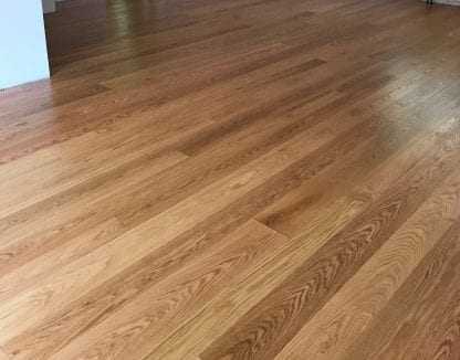 Red Oak select grade natural color