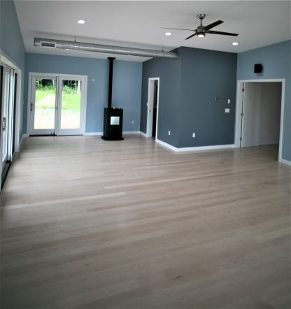 Select grade sugar maple flooring