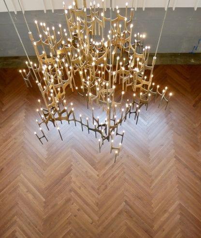 herringbone quarter rift white oak floor