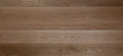 select grade plainsawn white oak with clear finish applied.