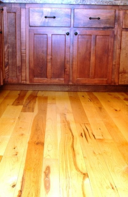hard maple kitchen flooring character grade