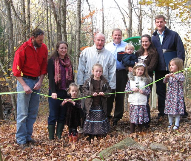 Donation of May Brook Glen to Opacum Land Trust