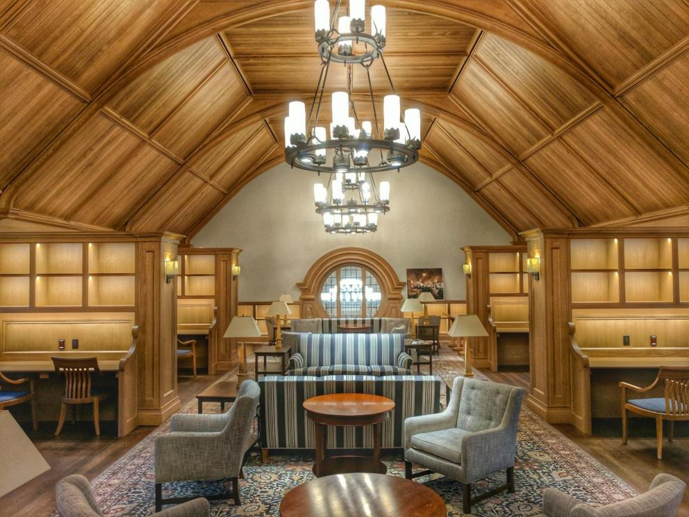 yale residential colleges wood floors