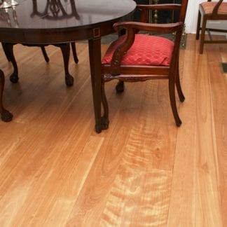 Select red birch wood flooring