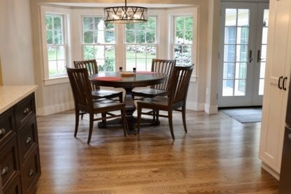 ash dining room floor