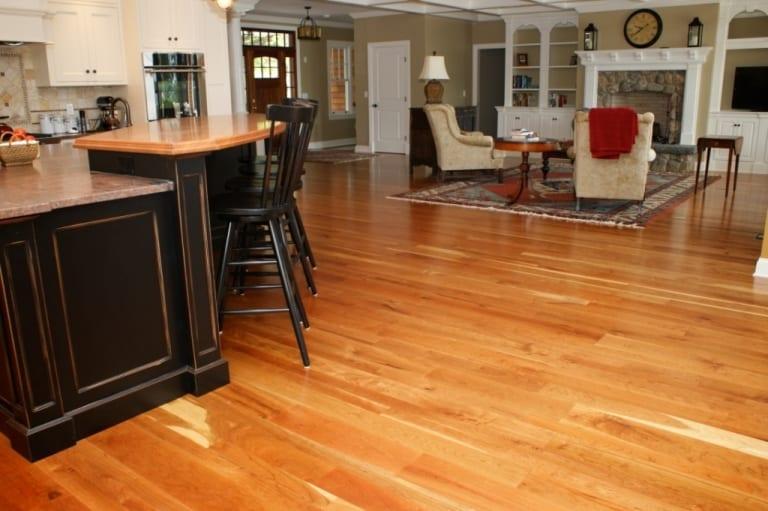 Cherry Wood Floors Wide Plank