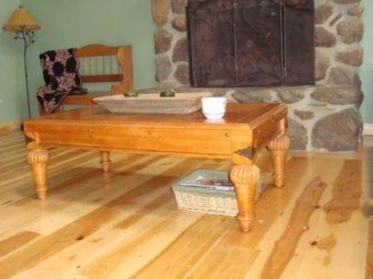 Hickory Wide Plank Flooring - Premium