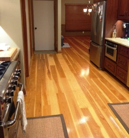 Hickory Wide Plank Flooring -