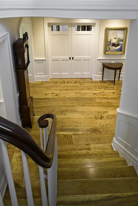 Birch Wide Plank Floors Curly Grain