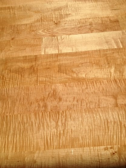 Curly/Tiger Maple Flooring - Premium