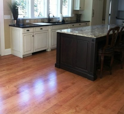 Curly/Tiger Maple Flooring - Select