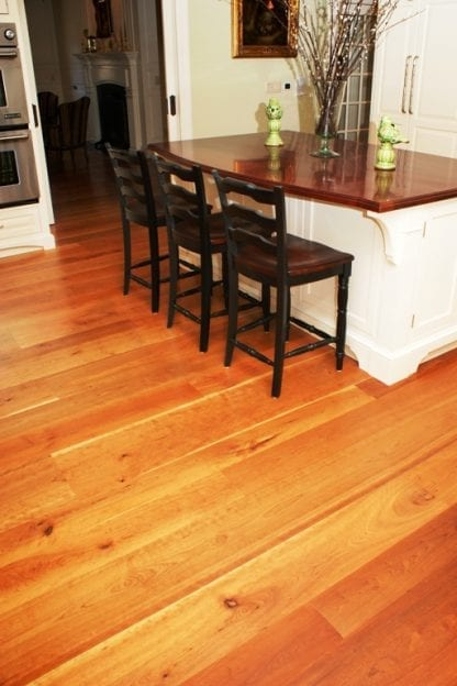 Cherry Wide Plank Flooring - Natural Grade