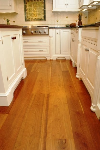 Cherry Wide Plank Flooring - Natural Grade