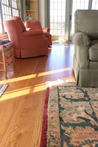 Red Oak Wide Plank Flooring - Select Grade