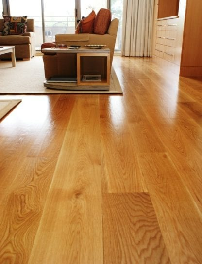 White Oak Wide Plank Flooring Select