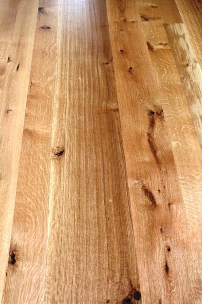 White Oak Flooring - Quarter and Rift Sawn - Natural