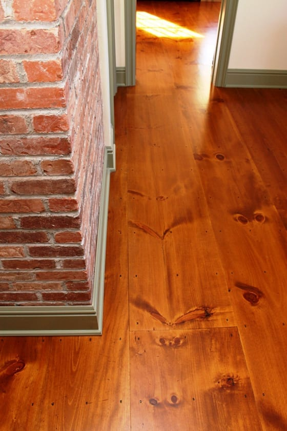 Wide Plank Solid Pine Wood Floors Usa Made Mill Direct