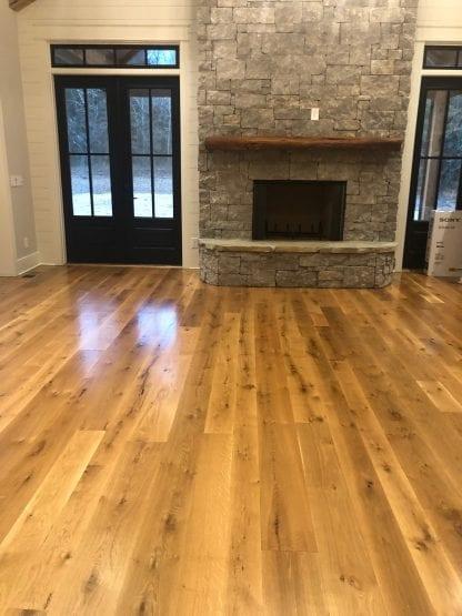 live sawn white oak flooring