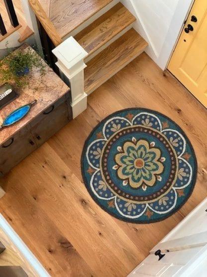 Live sawn white oak solid wood flooring, Pomfret, CT
