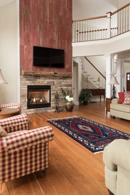 Cherry Wide Plank Wood Flooring - Premium Grade
