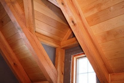 maple ceiling paneling