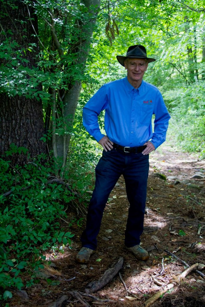 Bill Hull of Hull Forest Products received the 2019 Aldo Leopold Award for conserving working forests in the Northeast.
